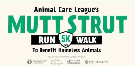 Mutt Strut 5k Walk/Run to Benefit Homeless Animals tickets