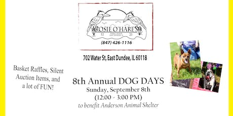 Rosie O'Hare's 8th Annual Dog Days to benefit Anderson Animal Shelter tickets