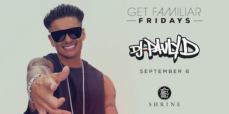 PAULY D @ SHRINE | 9.6.19 tickets