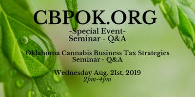 Oklahoma Cannabis Business Tax Strategy