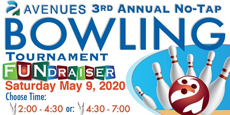 No-Tap Bowling Fundraiser 2020 tickets