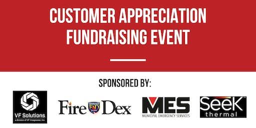 Customer Appreciation Fundraising Event at SAFRE 2019
