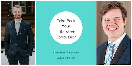 Take back your life after a concussion tickets