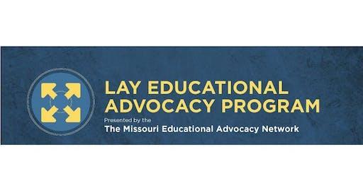 Advanced Day 2-Missouri Lay Educational Advocacy Training-St. Charles, MO