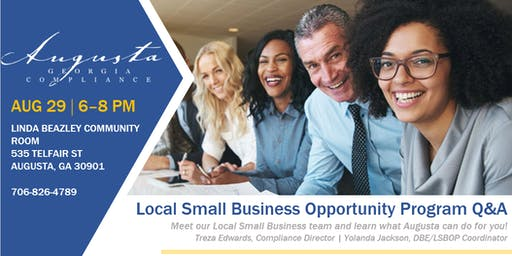 Local Small Business Opportunity Program Q&A