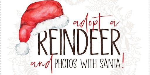 Adopt a Reindeer & See Santa