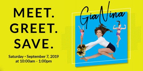 Join Us For A Special Meet & Greet With GiaNina From DANCE MOMS tickets