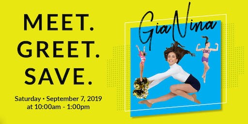 Join Us For A Special Meet & Greet With GiaNina From DANCE MOMS
