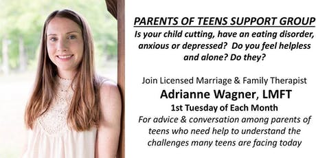 Parents of Teens Support Group tickets