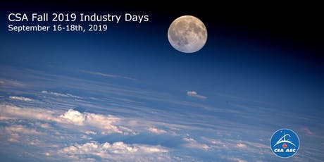 CSA Fall 2019 Industry Day 2: Astrobotic tickets