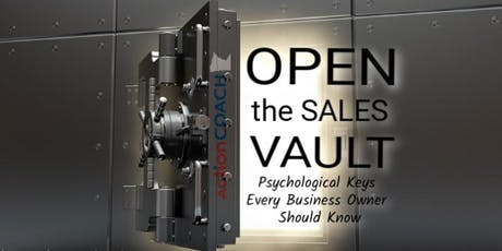 COR Class - Open the Sales Vault:  Psychological Keys tickets