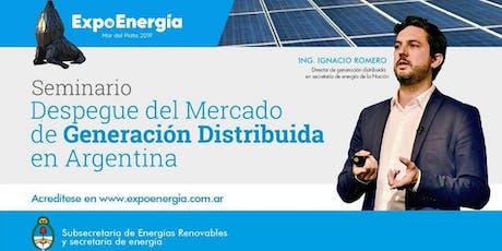 Seminario despegue del mercado de generación distribuida en Argentina entradas