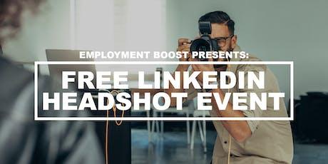 Free LinkedIn Headshot Event tickets