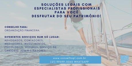 Seus bens Seguros aqui e fora do Brasil ingressos