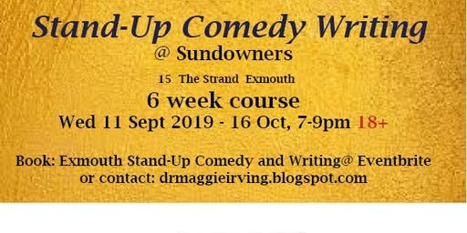 Exmouth: Stand-Up Comedy Writing