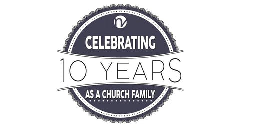 North Village Church's 10th Anniversary Celebration (RSVP by September 5)
