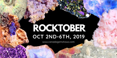 The Rocktober Rock n' Gem Show tickets