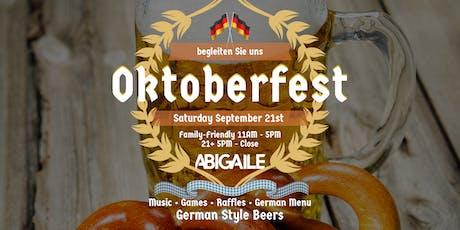 Oktoberfest German Beer & Food Festival tickets