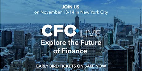CFO Live tickets
