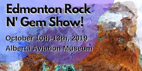 The Edmonton Fall Rock n' Gem Show tickets