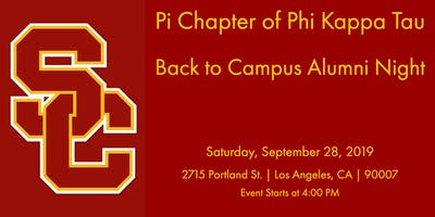 Phi Kappa Tau, Pi - Back to Campus Alumni Night