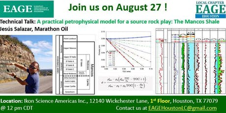 A practical petrophysical model for a source rock play: The Mancos Shale tickets