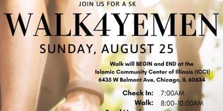5k Walk4Yemen tickets