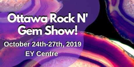 The Ottawa Rock n' Gem Show tickets