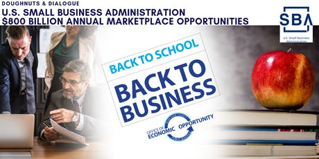 M-DCPS Doughnuts & Dialogue - SBA $800 Billion Annual Marketplace tickets