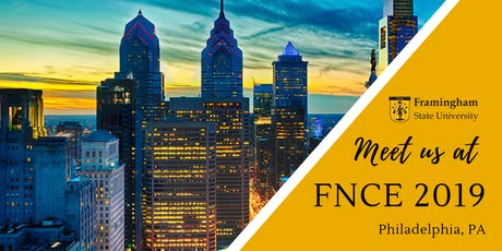 Meet Framingham State at #FNCE tickets