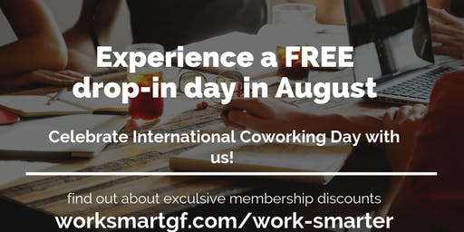 Experience a free day of coworking