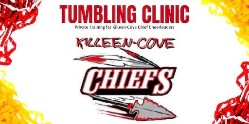 Killen-Cove Chiefs Tumbling Clinic | Private Training