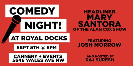 Comedy Night at Royal Docks! tickets