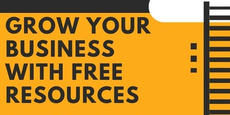 Grow Your Business with Free Resources tickets
