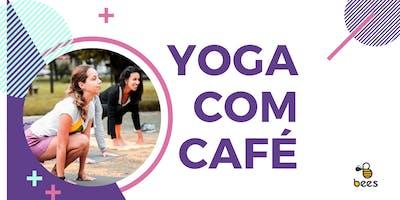 Yoga com café