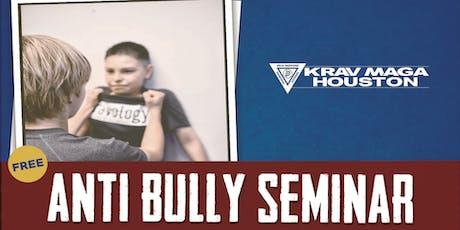 Free Anti Bully Seminar tickets