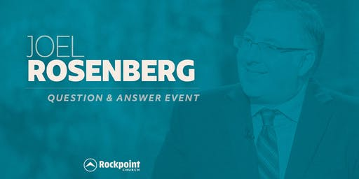 Joel Rosenberg at Rockpoint Church