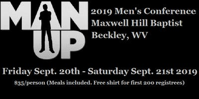 2019 MAN UP Men's Conference