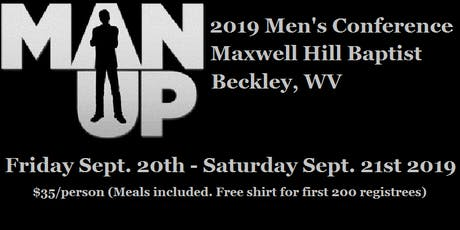 2019 MAN UP Men's Conference tickets
