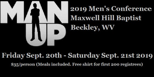 2019 MAN UP Men's Conference