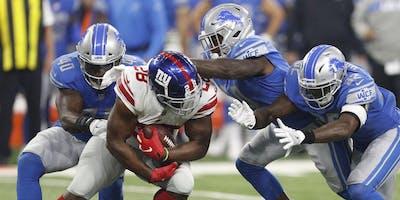 Ultimate Fan Experience: Detroit Lions vs New York Giants