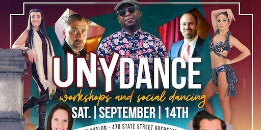 UNY Dance|Workshops & Party 9/14/19