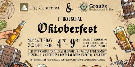 1st Inaugural Oktoberfest tickets