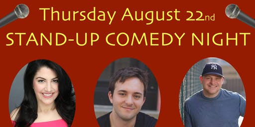 ONO BOWLS PRESENTS: STAND-UP COMEDY NIGHT!!