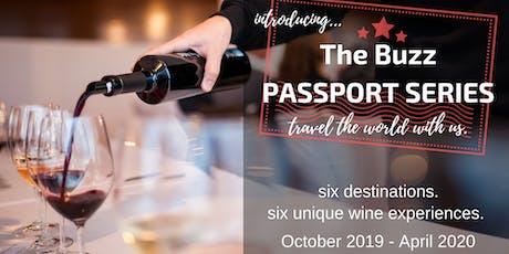 The Buzz Wine PASSPORT SERIES! tickets