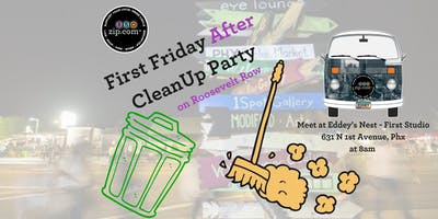 850zip First Friday AFTER Clean Up Party - October 5, at 8am