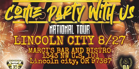 Demon Assassin's Come Party With Us Tour Lincoln City tickets