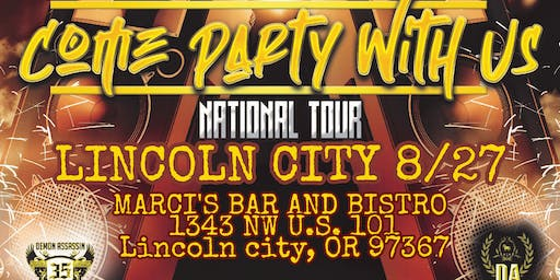 Demon Assassin's Come Party With Us Tour Lincoln City