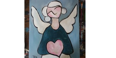 Winter Angel - Paint Party