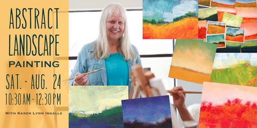Abstract Landscape Painting for Beginners with Karen Lynn Ingalls